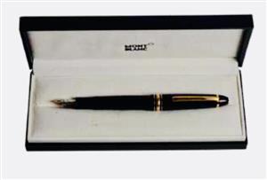 Mont Blanc meisterstück fountain pen