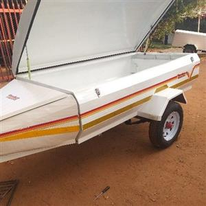 venter 7foot trailer with nose cone