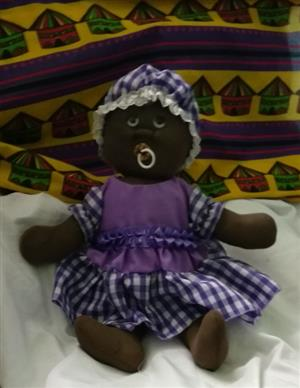 African Rag Doll Baby Thandi