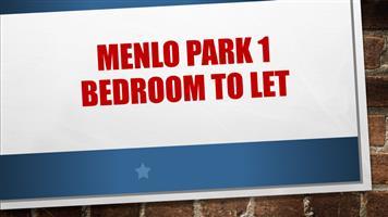 MENLO PARK 1 Garden flat for rent