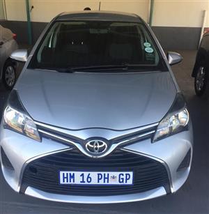 2014 Toyota Yaris 5 door 1.0 XS