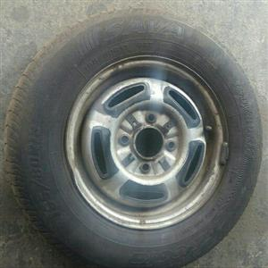 Ford escort rim / rim & tyre