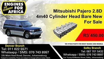 Mitsubishi Pajero 2.8D 4m40 Cylinder Head New For Sale