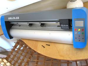 V3-448P V-Smart Contour Cutting Vinyl Cutter 440mm Working Area, Front/Back Cutting