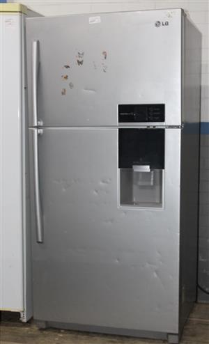 Lg 2 door fridge with water dispencer S031920A #Rosettenvillepawnshop