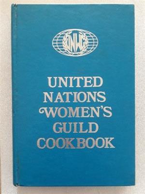 United Nations Women's Guild Cookbook.