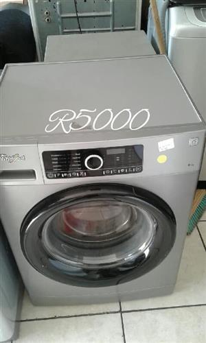 Whirlpool front loader washing machine