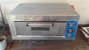 Pizza oven one tier for restaurant