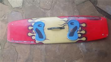 Second hand kite surfing board