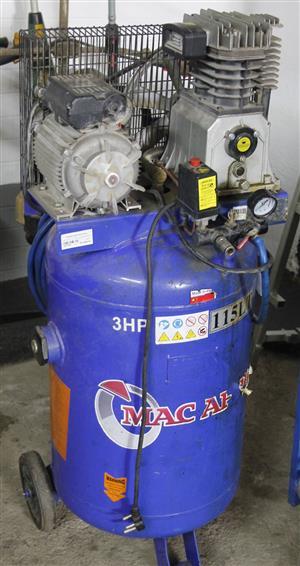 Mac afric 115L belt compressor S037558G #Rosettenvillepawnshop