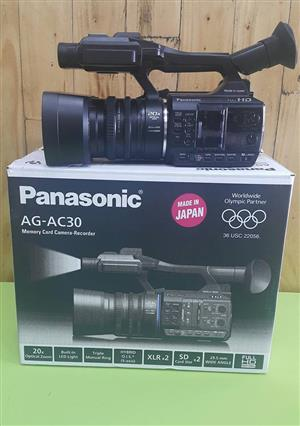 New Panasonic AG-AC30 Full HD Camcorder
