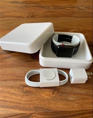 Apple Watch Series 3 Black Stainless 42mm Cellular (warranty until 10/2019)