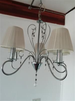 Chandelier - Black and White