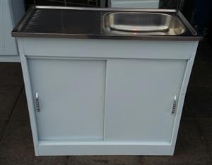 Brand New Steel Kitchen Sink Unit