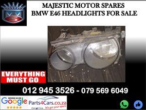 Bmw E46 headlights for sale