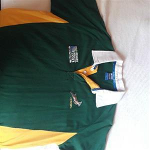 Springbok 2011 Rugby Shirt Collector