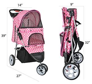 Pet stroller (light blue)