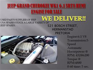 JEEP GRAND CHEROKEE WK1 6.1/SRT8 HEMI ENGINE (FOR SALE)