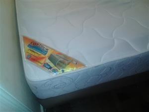 Contour foam double bed