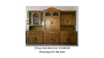 Wall Unit - Oak