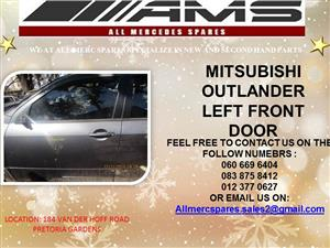 CHRISTMAS SPECIALS!! MITSUBISHI OUTLANDER LEFT FRONT DOOR FOR SALE