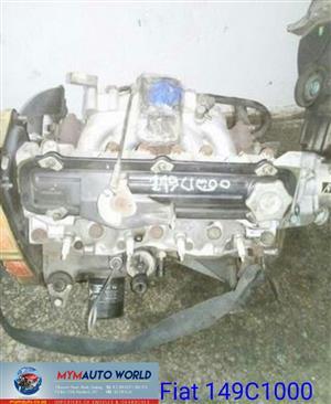 FIAT UNO/FIORINO 1.5L, FIAT 149C1000 Engine