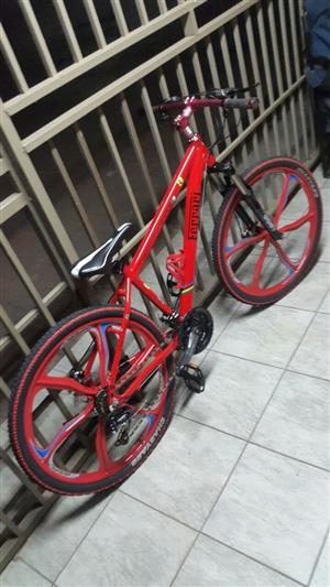2018 Ferrari Bicycle