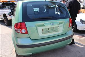 Stripping this vehicle for car parts Hyundai Getz 1.3
