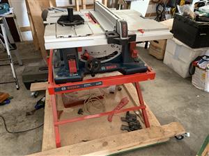 Bosch GTS 10 table saw