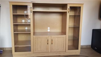 Oak Look wall Unit for sale