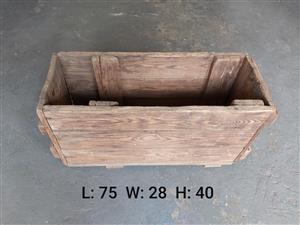 Vintage crate