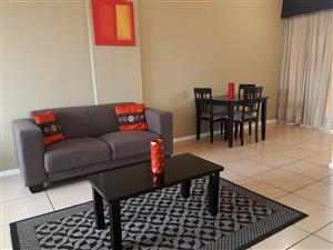 Flat to rent- FUlly furnished and serviced- Close to Sandton and Rosebank Gautrain station- R7490p/m