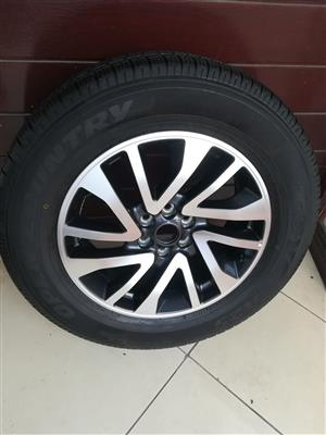 One Brand New Mercedes X Class Bakkie 18 inch Spare Wheel with New Toyo Tyre R7900