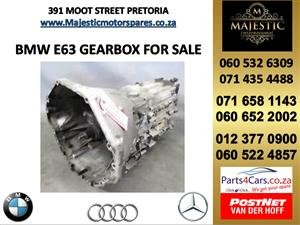 Bmw e63 gearbox for sale