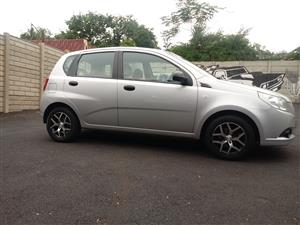 2009 Chevrolet Aveo hatch 1.6 L