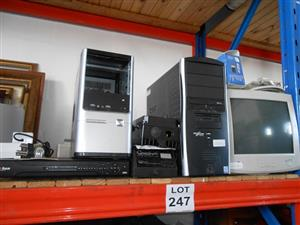 Laptops, CPUs, Printers and Copiers - on an on-site auction
