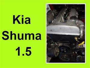 Kia Shuma 1.5 engine for sale.