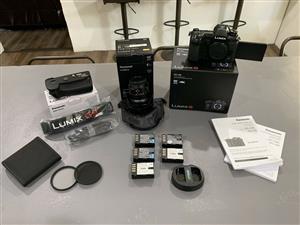 Panasonic Lumix G9 kit with extras