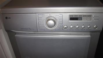 LG tumble dryer with huge capacity