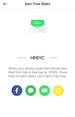 Ride for free!! Bolt Taxify promo code HP8YC for R75 off !!