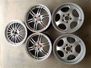 2 pairs + 1 alloy rims for sale.