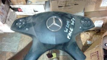 Mercedes Benz W204 steering airbag for sale