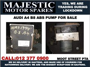 Audi A4 B8 use abs pump for sale