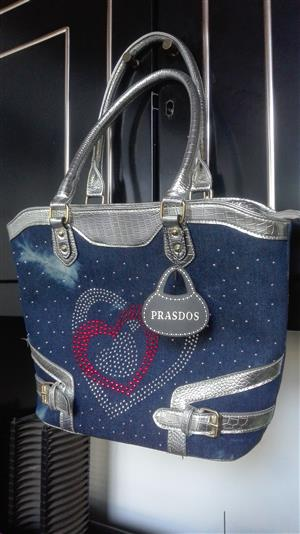 Lady's Bag  ( Blue Denim ) (PRASDOS )