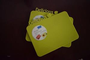 Green delicious place mats for sale