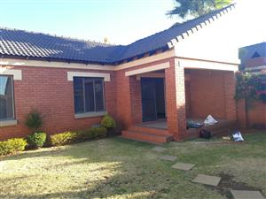 Newly renovated and painted 3 bedroom townhouse mooikloof ridge