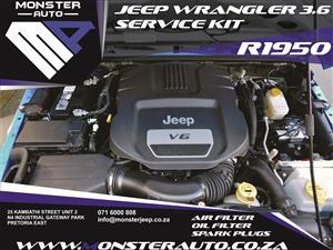 Jeep Wrangler JK Service kits