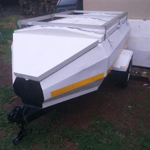 6 foot trailer with nose cone