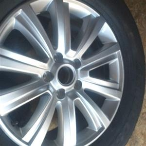 Amarok rim and tyres