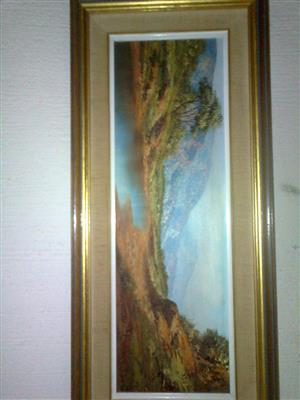 mint condition paintings by Louise Repsold